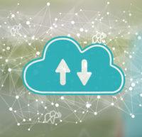 Downloadbereich Unternehmensbilder (dargestellt als Wolke)
